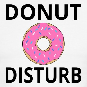 Donut Disturb - Men's Ringer T-Shirt