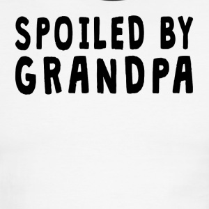 Spoiled By Grandpa - Men's Ringer T-Shirt