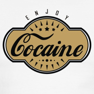 Cocaine - Men's Ringer T-Shirt