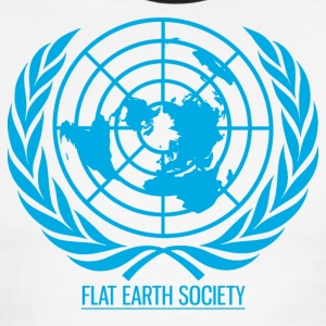 Flat Earth Society - Men's Ringer T-Shirt