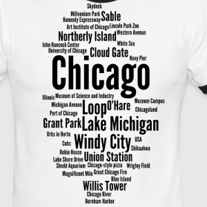 Chicago (Windy City; Illinois, USA) - Men's Ringer T-Shirt
