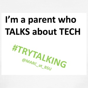 I'm A Parent Who Talks About Tech - Men's Ringer T-Shirt