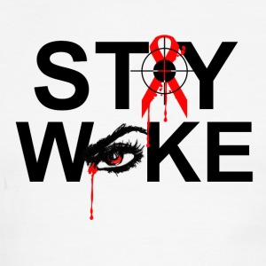 Stay Woke - Men's Ringer T-Shirt