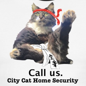 City Cat Home Security - Men's Ringer T-Shirt