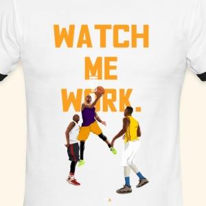 watch me - Men's Ringer T-Shirt