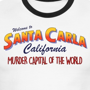 The Lost Boys - Welcome To Santa Carla - Men's Ringer T-Shirt