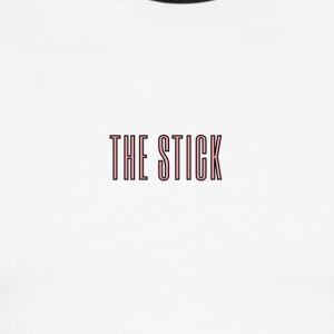 THE STICK LOGO - Men's Ringer T-Shirt