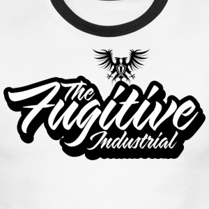 FUGITIVE 1149 BLACK - Men's Ringer T-Shirt