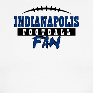 Indianapolis football fan - Men's Ringer T-Shirt