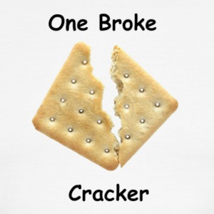One Broke Cracker - Men's Ringer T-Shirt