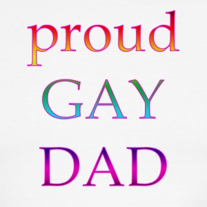 proud gay dad - Men's Ringer T-Shirt