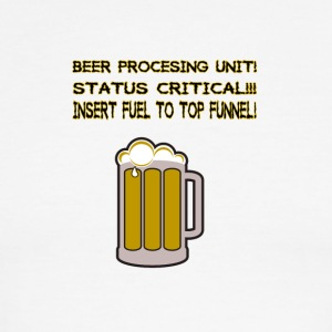 Beer procesing unit! - Men's Ringer T-Shirt