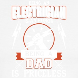 Being An Electrician Is An Honor Dad T Shirt - Men's Ringer T-Shirt