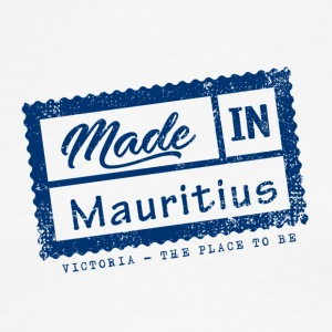 Made In Mauritius Stamp - VICTORIA - Men's Ringer T-Shirt