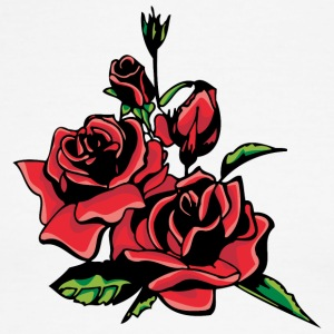 big_roses - Men's Ringer T-Shirt
