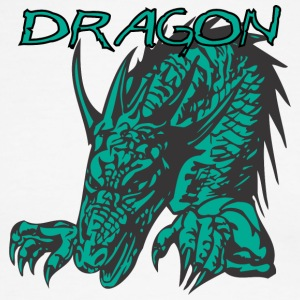 2_hand_dragon_color - Men's Ringer T-Shirt