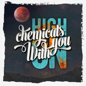 High On Chemicals With You - Men's Ringer T-Shirt