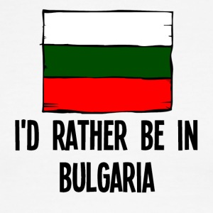I'd Rather Be In Bulgaria - Men's Ringer T-Shirt