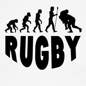 Rugby Evolution - Men's Ringer T-Shirt