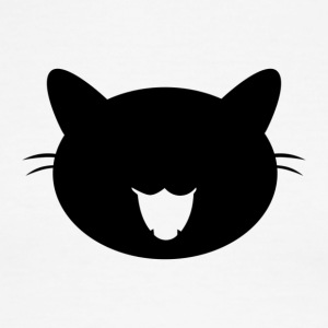 Black cat - Men's Ringer T-Shirt