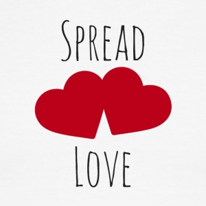 Spread love - Men's Ringer T-Shirt