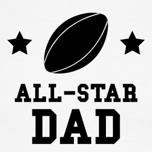 All Star Rugby Dad - Men's Ringer T-Shirt
