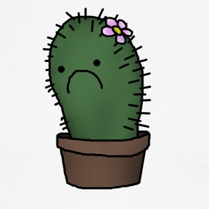 sad cactus - Men's Ringer T-Shirt
