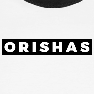 ORISHAS (White/Black Border) - Men's Ringer T-Shirt