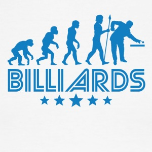 Retro Billiards Evolution - Men's Ringer T-Shirt