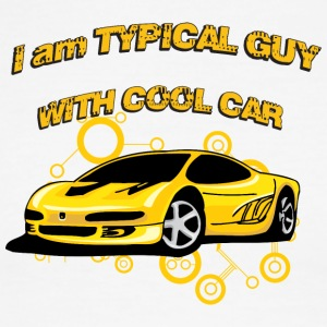I_am_Typical_guy_with_cool_car - Men's Ringer T-Shirt