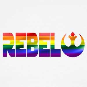 Rebel Pride - Men's Ringer T-Shirt