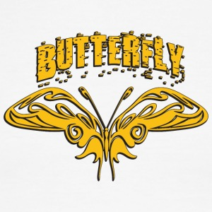 butterfly 13 - Men's Ringer T-Shirt