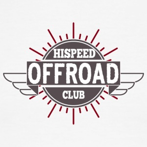 Offroad Hispeed Club - Men's Ringer T-Shirt