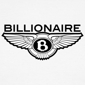 Billionaire - B Design (Black) - Men's Ringer T-Shirt