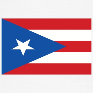 puerto rico flag 121400710 - Men's Ringer T-Shirt