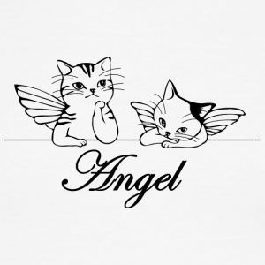 Isle of Angel Cats - Men's Ringer T-Shirt