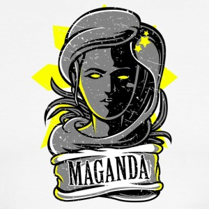 Si Maganda. Symbol of Filipina Women Beauty. - Men's Ringer T-Shirt