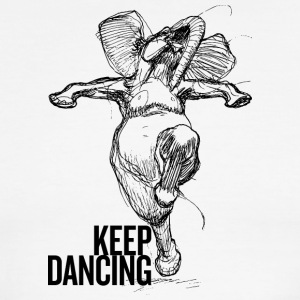 Keep Dancing - Men's Ringer T-Shirt