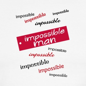 impossible man - Men's Ringer T-Shirt
