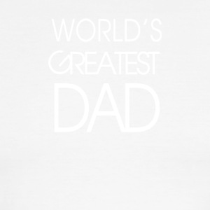 World s Greatest Best Dad Father s Day - Men's Ringer T-Shirt