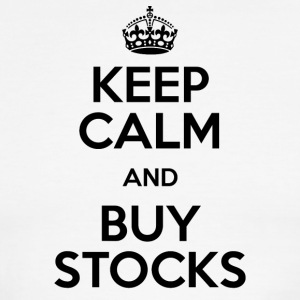KEEP CALM AND BUY STOCKS - Men's Ringer T-Shirt