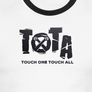 Touch One Touch All original logo - Men's Ringer T-Shirt