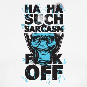Sarcasm Fuck off - Men's Ringer T-Shirt