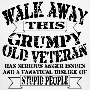 Grumpy Old Veteran - Men's Ringer T-Shirt