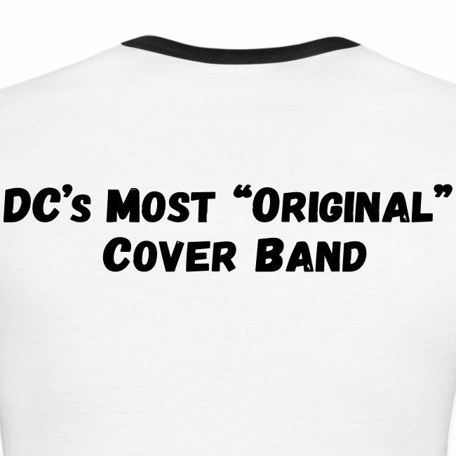 Band Logo - Black - Front and Back