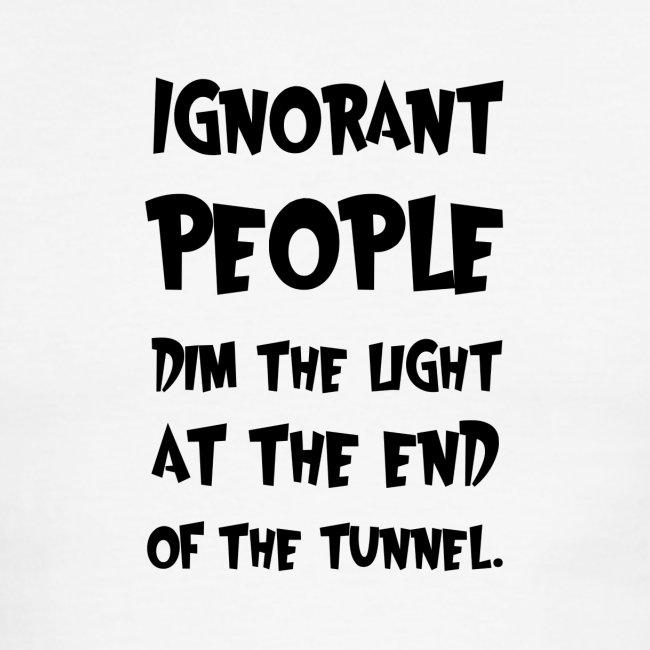 Ignorant People | Men\'s Ringer T-Shirt