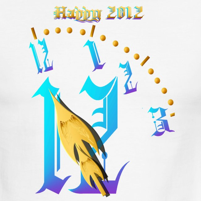 Happy 2012-Clock Striking 12:NM