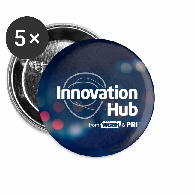 Innovation Hub button with color