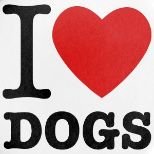 I Heart Dogs - Large Buttons