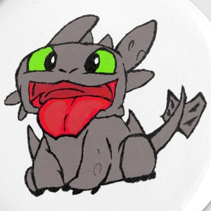 Baby Toothless - Large Buttons